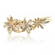 Bridal Gold Rhinestone Bridal Hair Comb