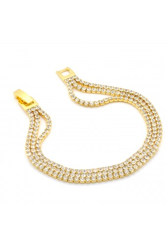 Fashion Jewelry Gold Plating Link Bracelet