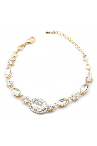 Fashion Bracelet Gold Plating Link Bracelet