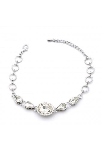 Fashion Bracelet Silver Plating Link Bracelet