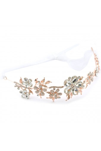 Fashion Accessory Hair Band Rose Gold Plating Tiara