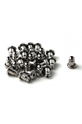 Silver Bullet Back Clutches (12 Pairs)